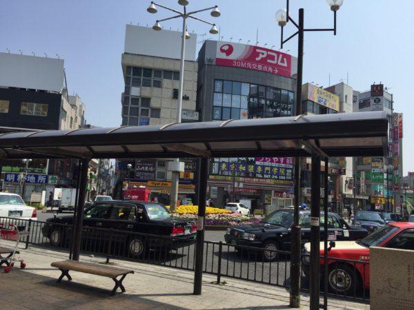 浦安駅前ロータリー